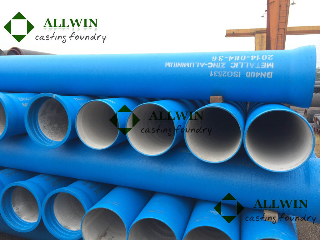 ductile iron pipe for sewer