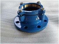 flange adapter for PEpipe