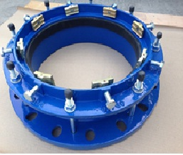 flanged adapter for pe pipe