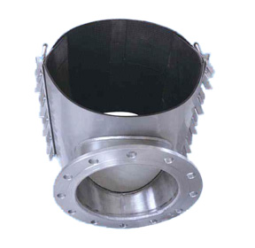 stainless steel repair clamp tee with flange